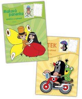 Kniha: Balíček 2ks Krtek + Maková panenka - omalovánkyautor neuvedený