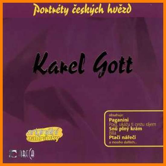 Kniha: Pojď ukážu ti cestu rájem - CD - Gott Karel