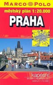 Praha/kapesní atlas 1:20T