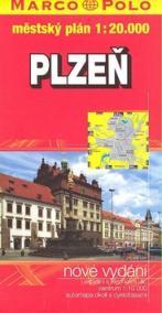 Plzeň-mapa
