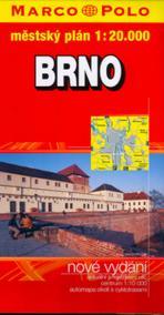 Brno 1:20 000 - městský plán