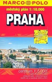 Praha městký atlas 1:10T