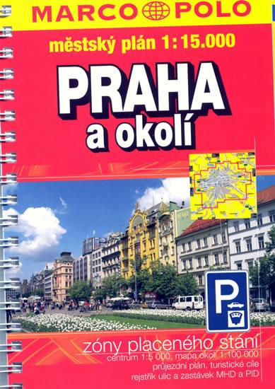 Kniha: Praha a okolí 1:15Tautor neuvedený