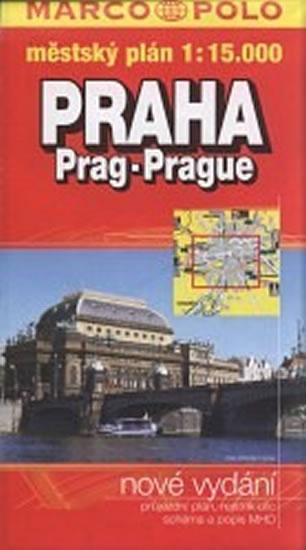 Praha / plán měkký