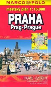 Praha - městský plán 1:15T