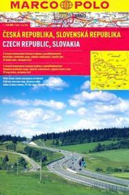 Česká a Slovenská republika 1:240 000