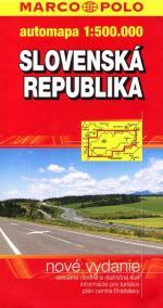 Slovenská republika - mapa 1:50000