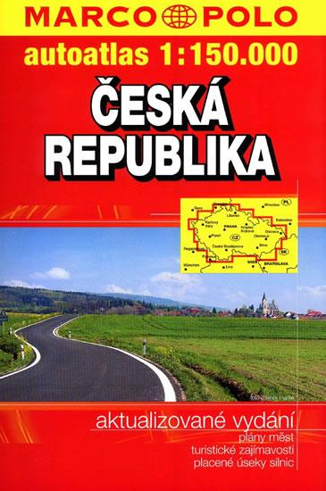 Autoatlas ČR 1:150 000