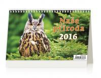 Kalendář stolní 2016 - Naše příroda