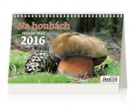 Kalendář stolní 2016 - Na houbách