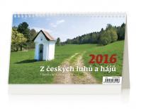 Kalendář stolní 2016 - Z českých luhů a hájů
