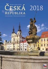 Kalendář nástěnný 2018 - Česká republika