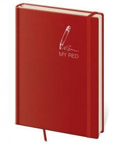 Zápisník My Red - linkovaný M