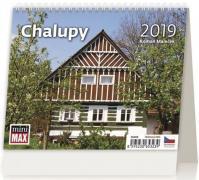 Kalendář stolní 2019 - Minimax Chalupy