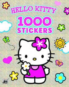 Vymaľovanka 1000 stickers/ Hello Kitty
