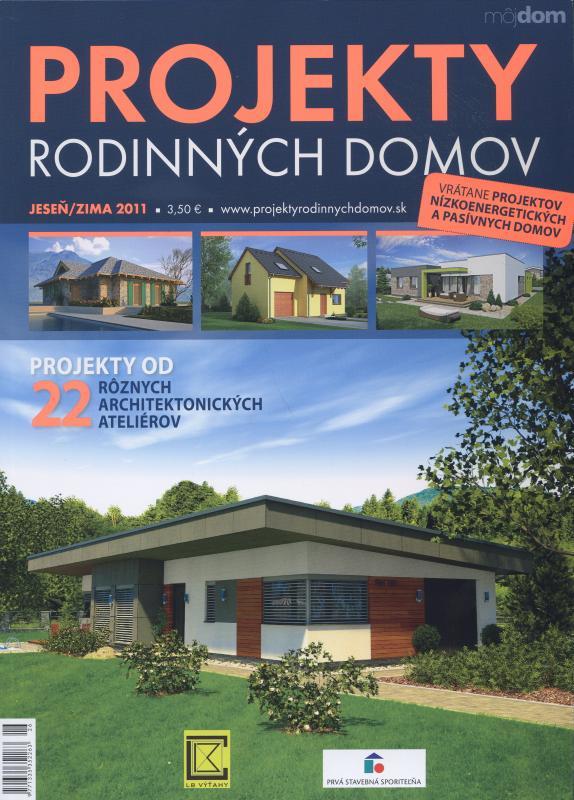 Projekty rodinných domov, jeseň/zima 2011