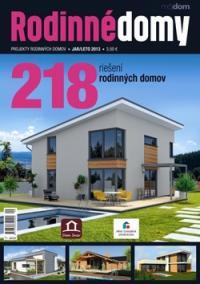 Rodinné domy jar/leto 2013