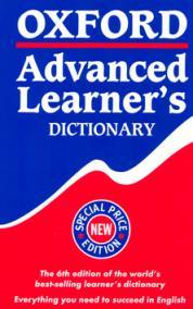 Oxfrod Advanced Learneŕs Dictionary