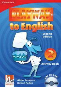 Playway to English 2nd Edition Level 2: Activity Book with CD-ROM