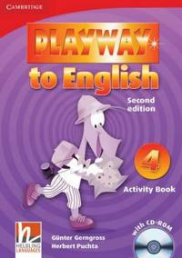 Playway to English 2nd Edition Level 4: Activity Book with CD-ROM