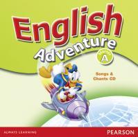 English Adventure Starter A Songs CD