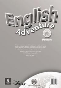 English Adventure Starter B Posters