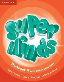 Super Minds 4: Workbook with Online Resources