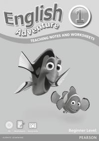 English Adventure 1: Teaching notes and Worksheets Beginner Level Pack (WB + Audio CD + Cards)