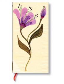 Zápisník - Serpentine Laurel Burch Blossom, slim 90x180 Lined