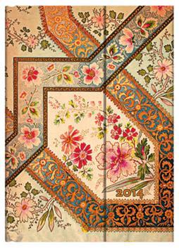 Kniha: Diář Filigree Floral Ivory 2014autor neuvedený