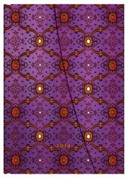 Kniha: Diář French Ornate Violet 2014autor neuvedený