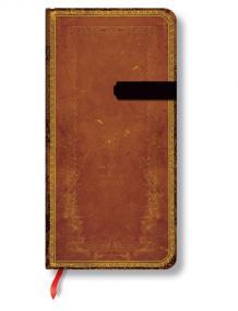 Zápisník - Handtooled, slim 90x180