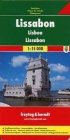 Plán města Lisabon 1:15 000