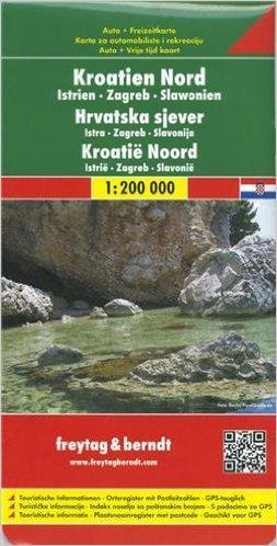 Kniha: Automapa Chorvatsko sever 1:200 000autor neuvedený