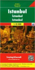 Plán města Istanbul 1:10 000