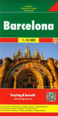 Kniha: Plán města Barcelona 1:10 000autor neuvedený