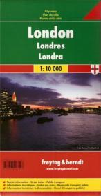 Plán města Londýn 1:10 000