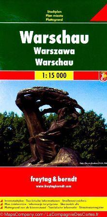 Kniha: Plán města Varšava 1:15 000autor neuvedený