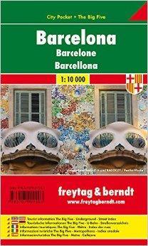 Kniha: Barcelona / city plan 1:10 000autor neuvedený
