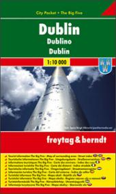Dublin / city plan 1:10 000