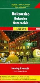 Rakousko 1:300 000