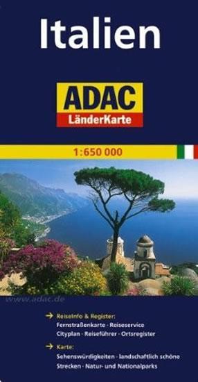 Itálie/mapa1:650T ADAC