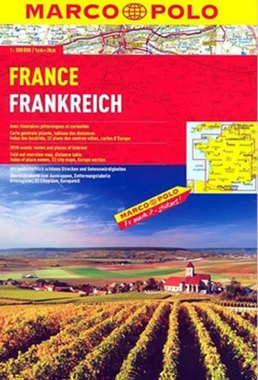Francie/atlas spirála 1:300 000