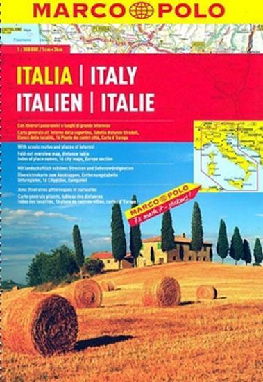 Itálie - automapa 1:300 000 (spirála)