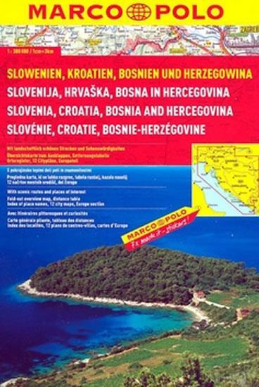 Slovinsko/Chorvatsko / atlas-spirála 1:300T MD