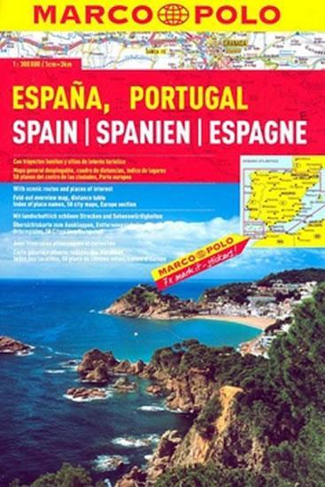Španělsko/Portugalsko/atlas-spirála 1:300T MD