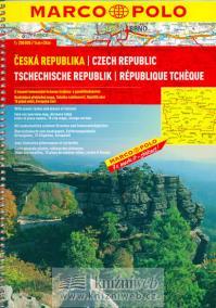 Česká republika - 1:200 000 (s trasami..