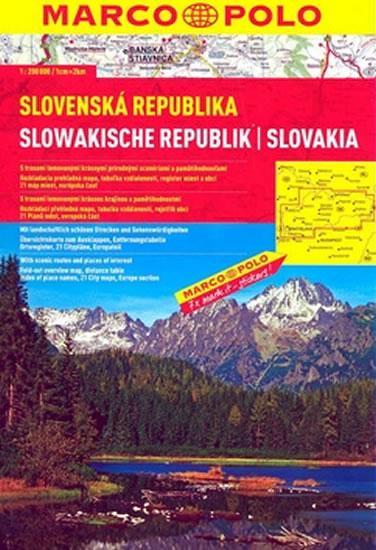 Slovenská republika 1:200 000 - autoatlas