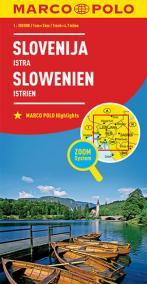 Slovinsko, Istrie 1:300T//mapa(ZoomSystem)MD