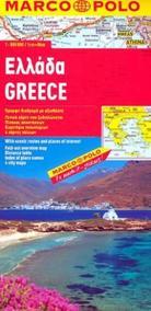 Řecko/mapa 1:800T MD
